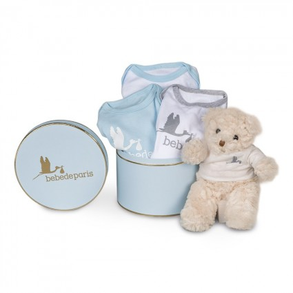 Blue Happy Bodies Baby Hamper