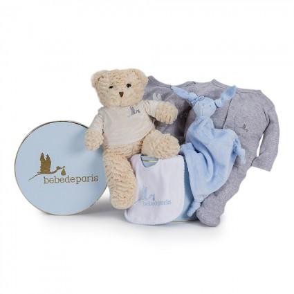 Casual Essential Baby Hamper Blue