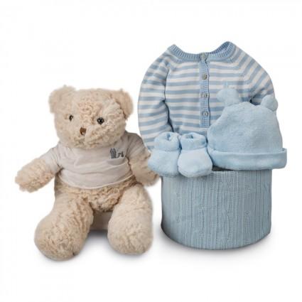 Stripes Soft Essential Baby Hamper