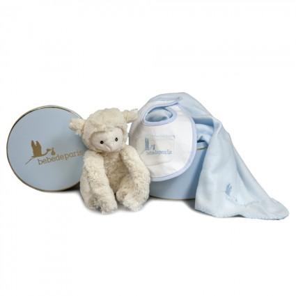 Baby Little Lamb Gift Set Blue