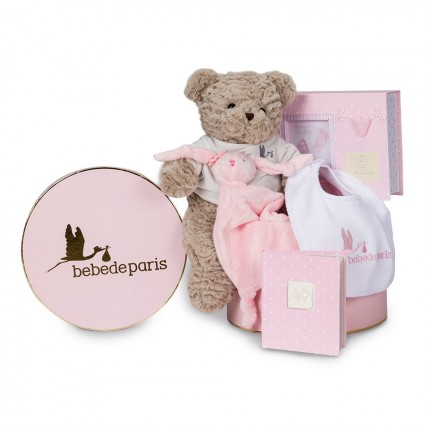 Memories Essential Baby Hamper Pink