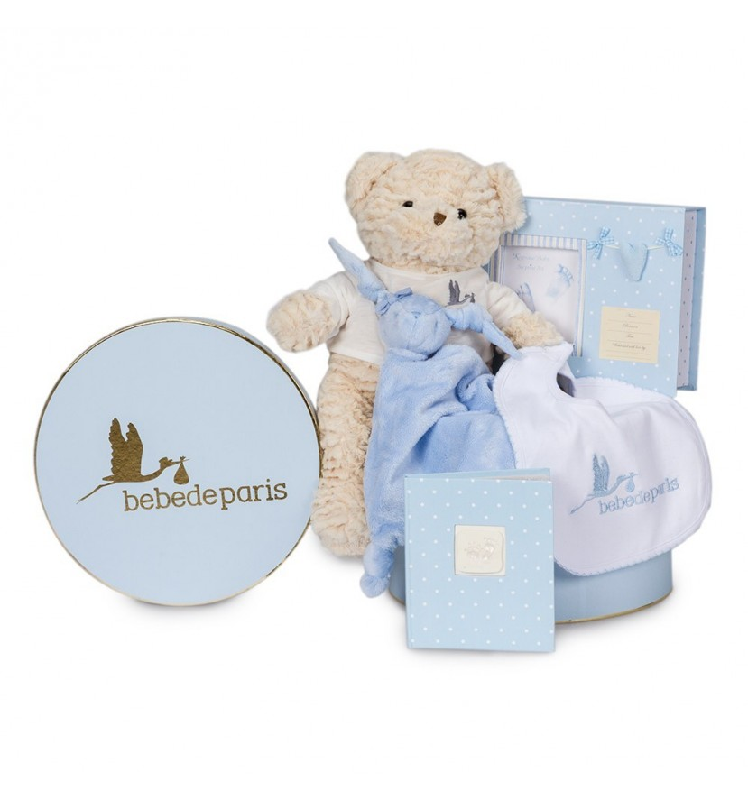 Memories Essential Baby Hamper Blue