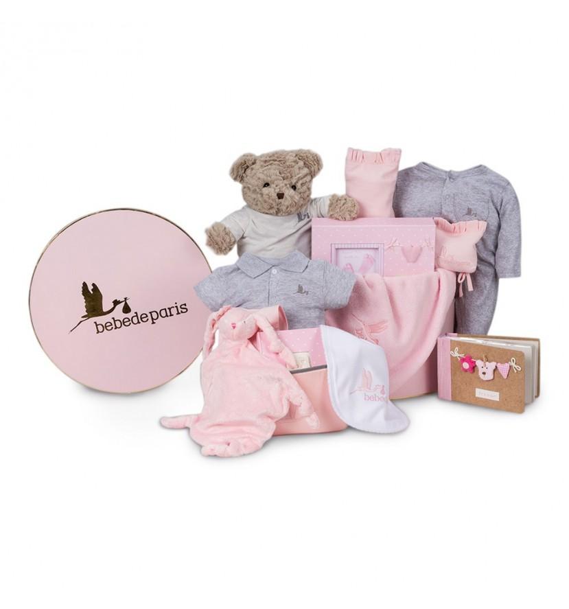 Memories Deluxe Baby Hamper Pink