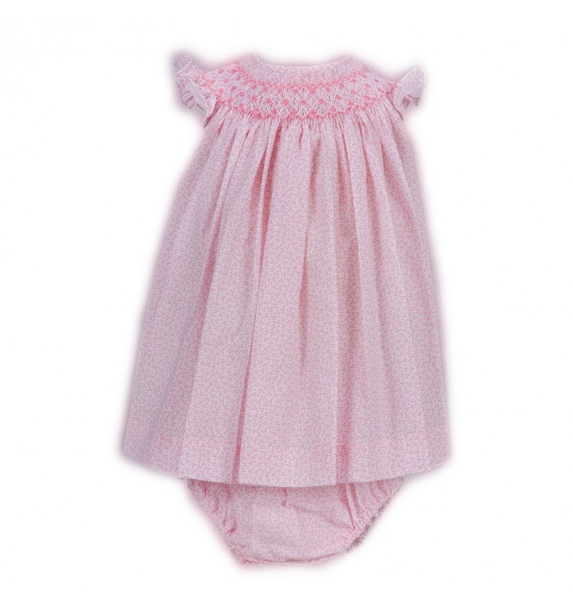 Pink Classic Baby Girl Dress