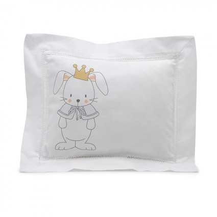 Pink Bunny Personalised Decorative Cushion