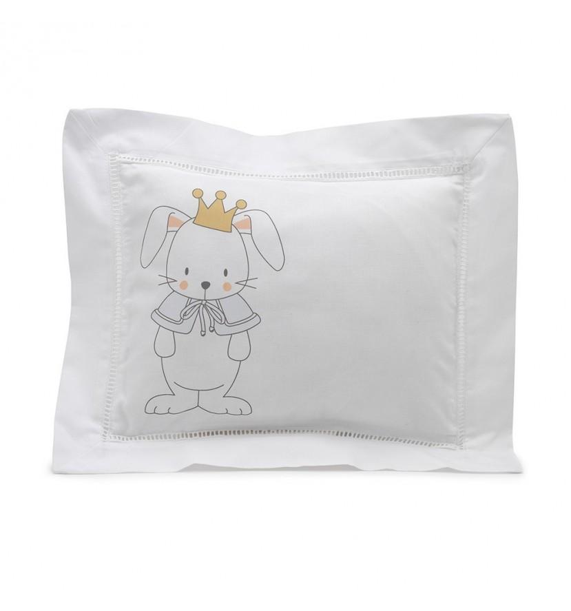 Blue Bunny Personalised Decorative Cushion