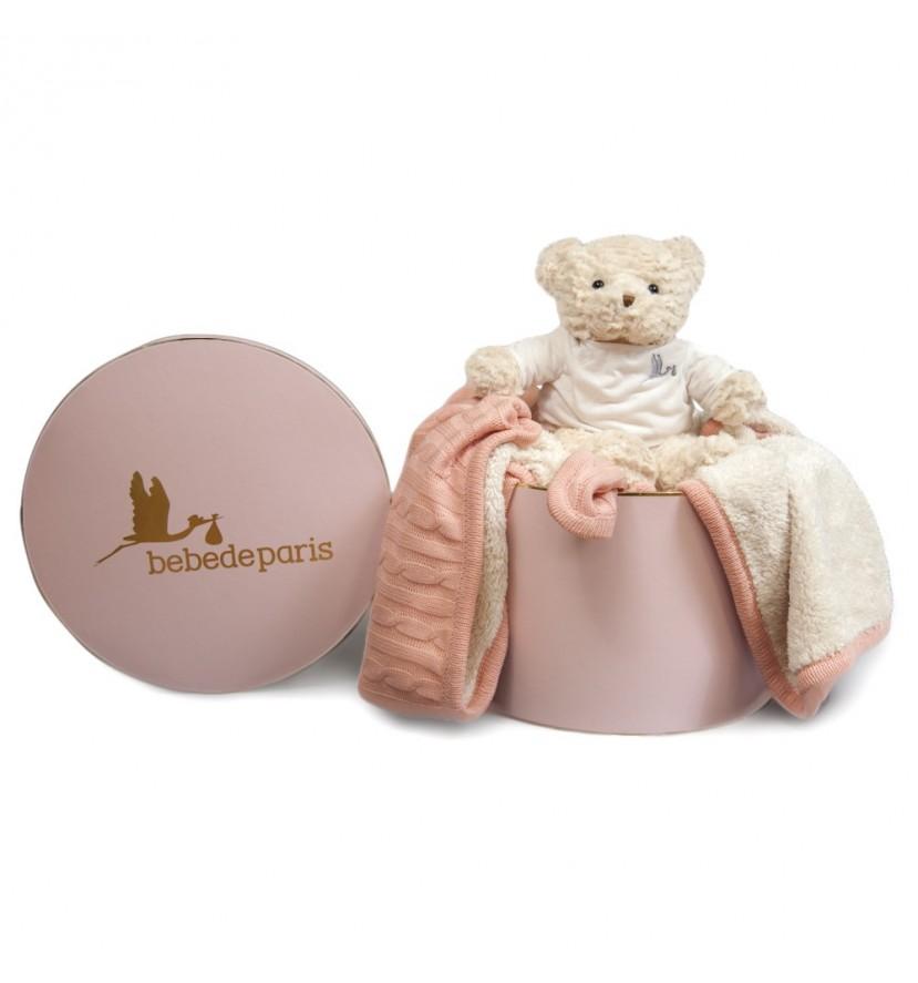 Pink Baby Deluxe Blanket Gift Set