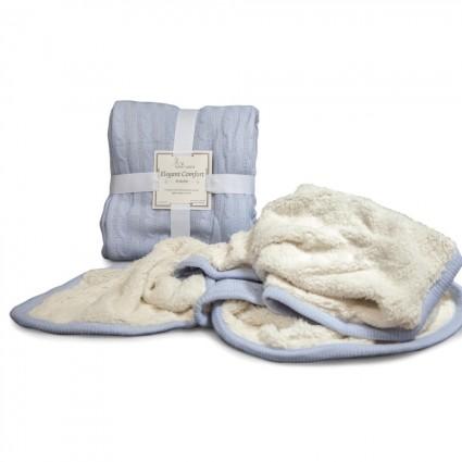 Deluxe Baby Blanket Blue