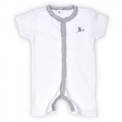 Basic Baby Body Short Sleeve Grey