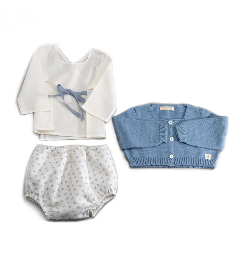 Blue Atelier New York Baby Set