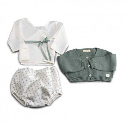 Green Atelier New York Baby Set