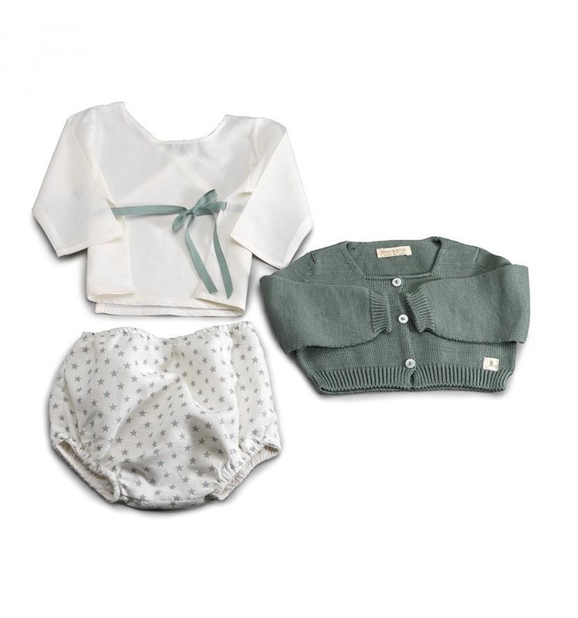 Green Atelier New York Baby Set