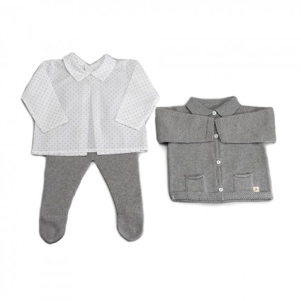 Grey Atelier Munich Baby Set