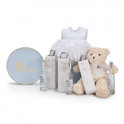 Atelier Baby Boy Hamper Grey
