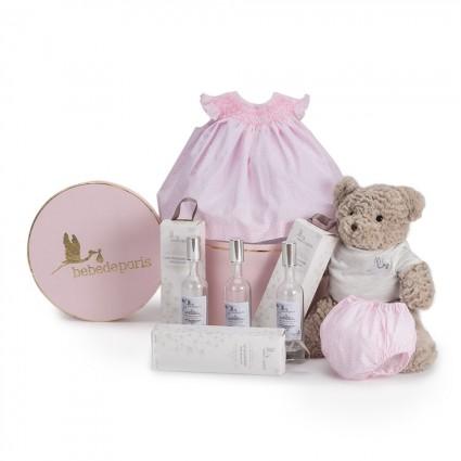 Atelier Liberty Baby Girl Hamper Pink