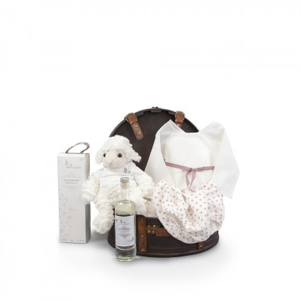 Atelier Coffre Stars Baby Basket Pink