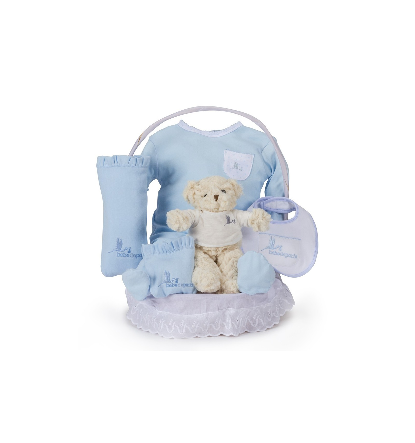 Baby Gift Hamper Uk : Classic essential baby gift hamper