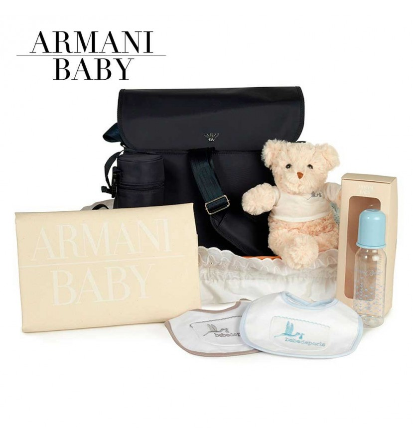 Armani Travel Baby Hamper (Navy Blue)