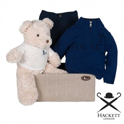Hackett Jumper and Trouser Set Baby Hamper