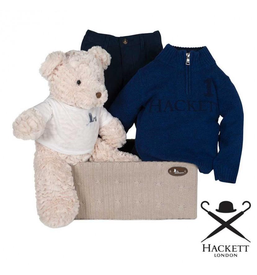 Hackett Jumper and Trouser Set Baby Hamper