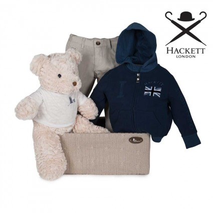 Hackett Sweatshirt and Trouser Set Baby Hamper