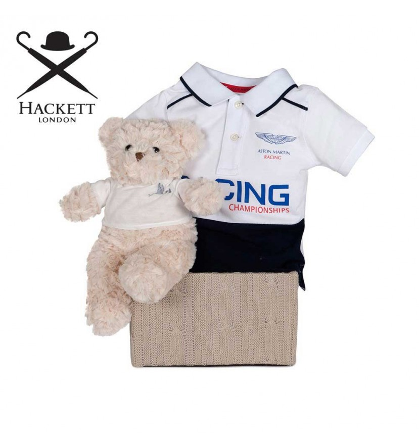 Hackett Polo Racing Baby Hamper
