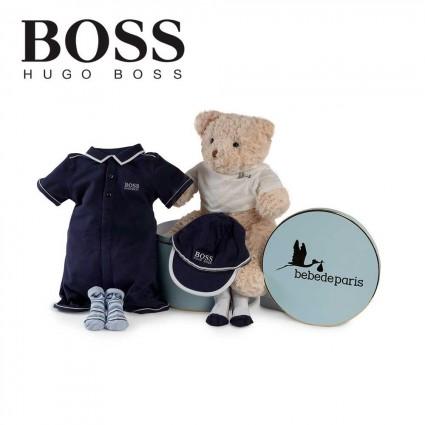 Hugo Boss Polo Bodysuit Baby Hamper