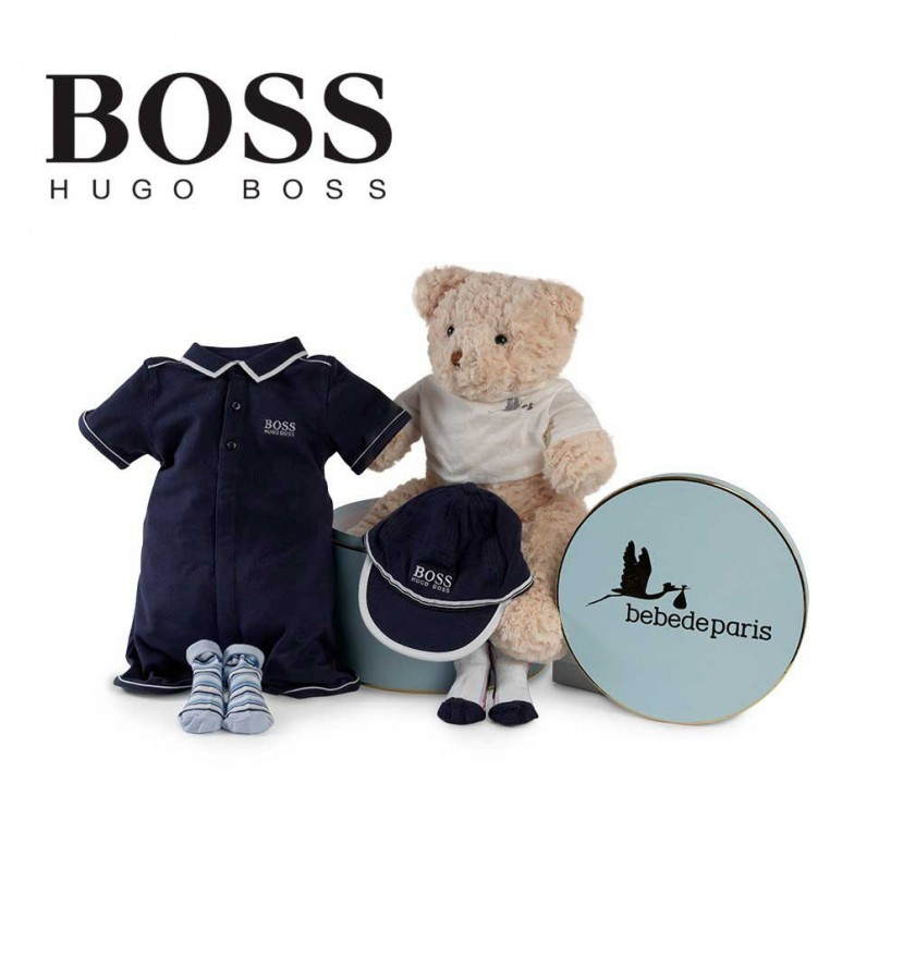 Hugo Boss Polo Bodysuit Baby Hamper
