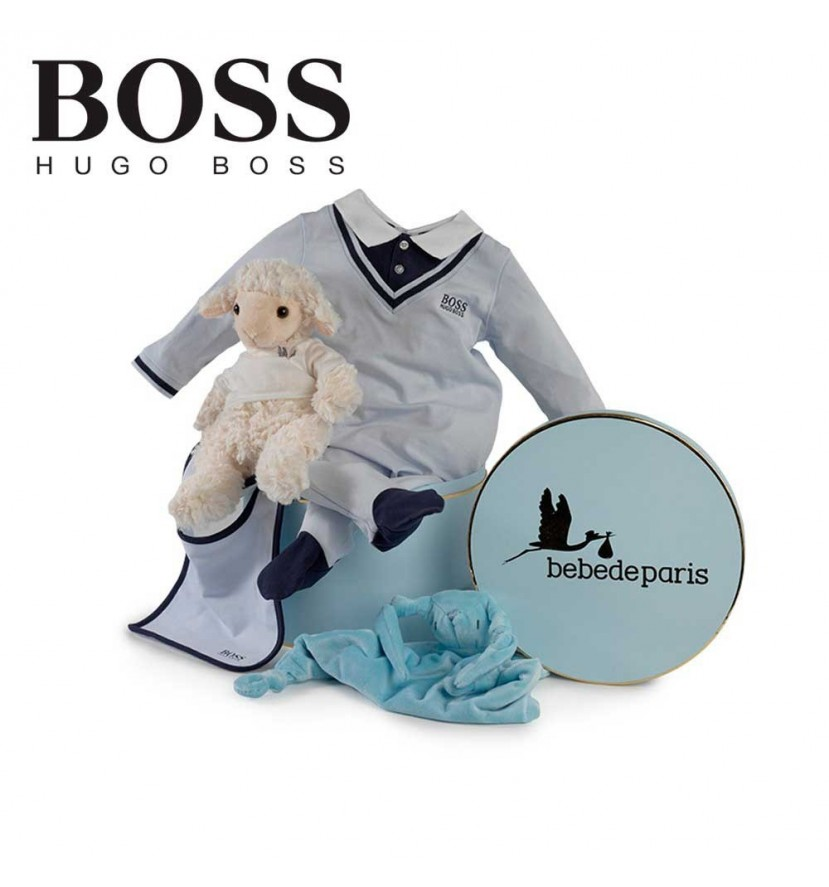 Hugo Boss Serenity Baby Hamper (Navy Blue)