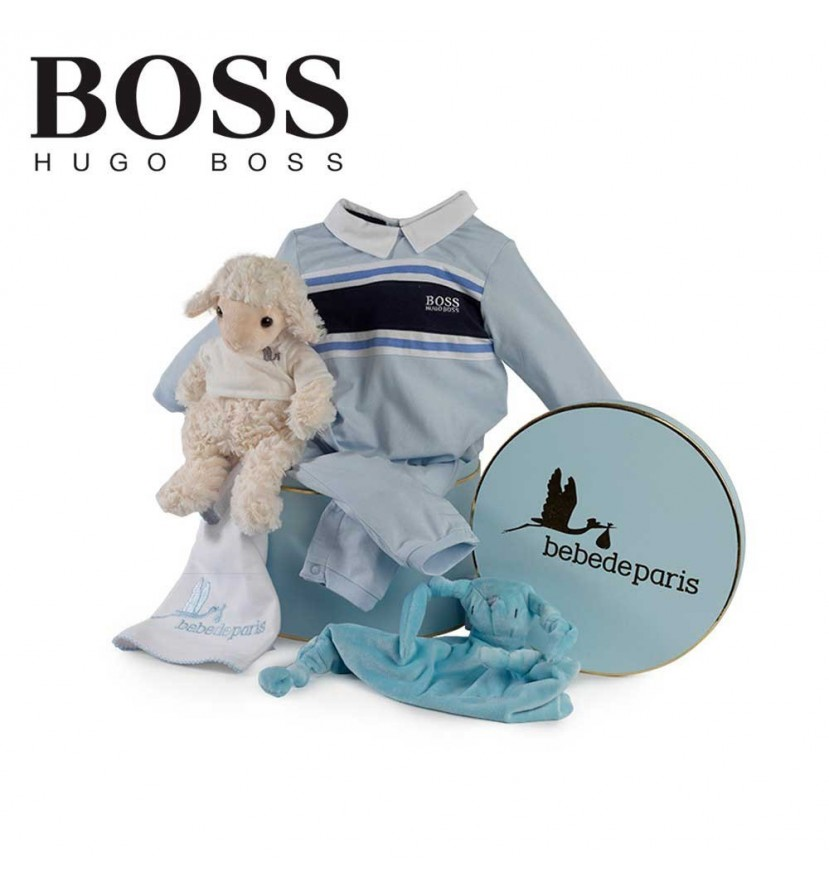 Hugo Boss Serenity Baby Hamper (Stripes)