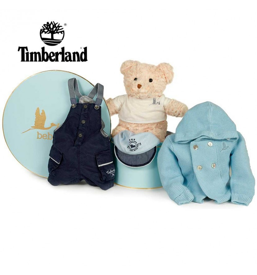 Timberland Blue Baby Hamper