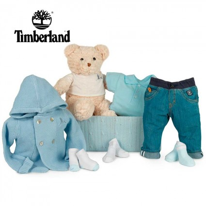 Timberland Denim Baby Hamper