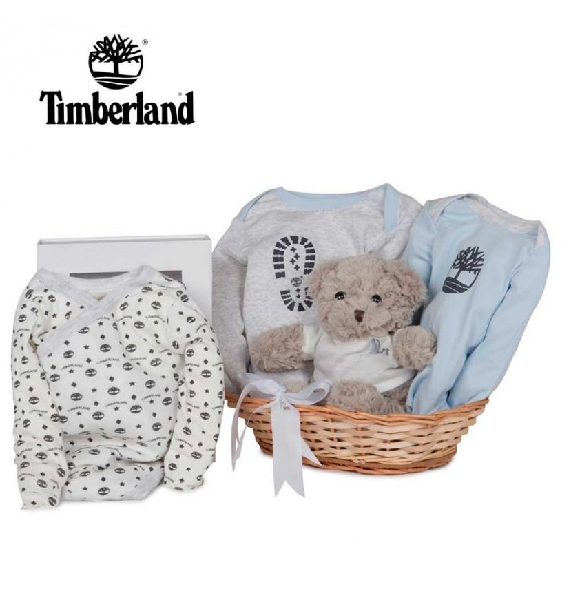 Timberland Bodysuits Baby Hamper