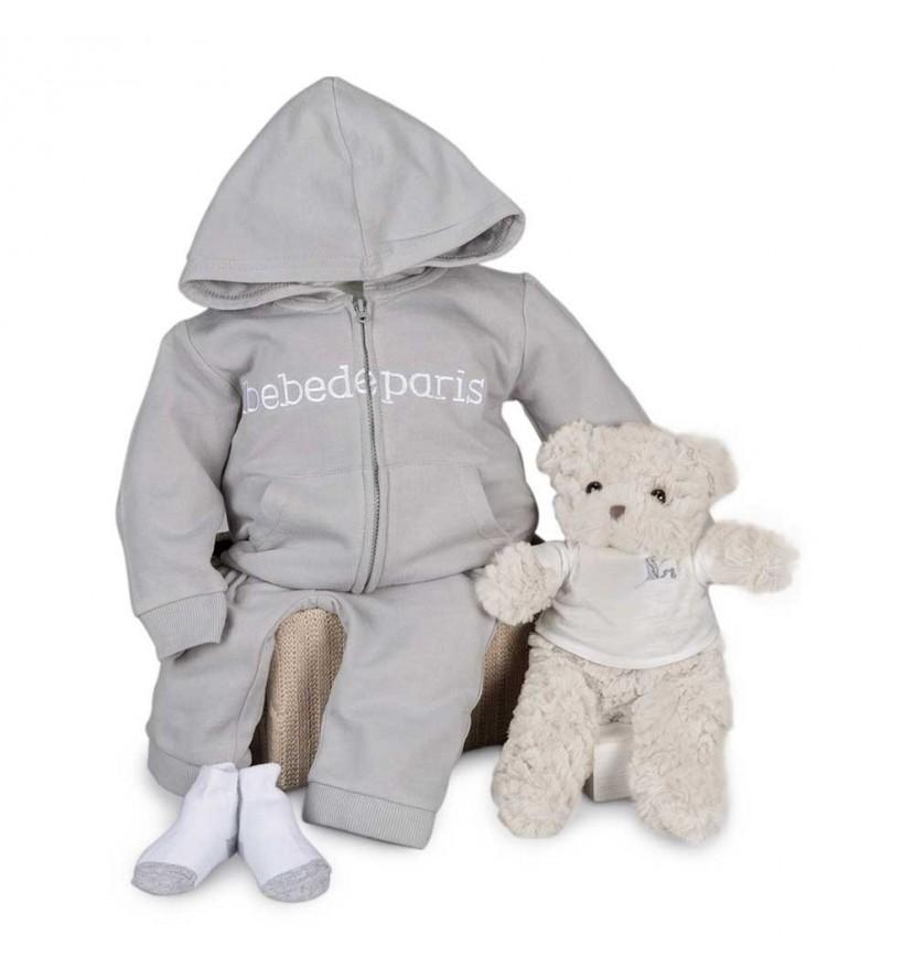 Grey Happy Sport Baby Hamper