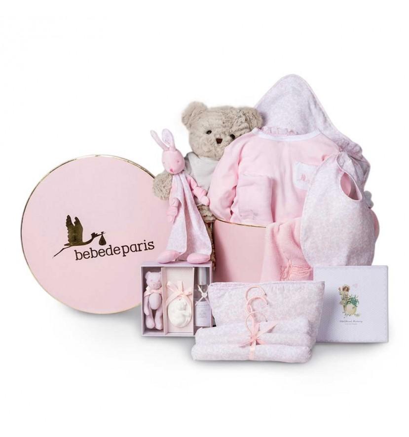 Vintage Deluxe Baby Hamper Pink