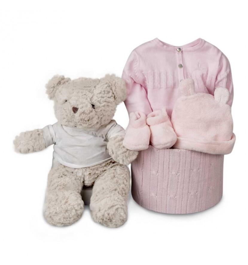 Classic Soft Essential Baby Hamper Pink