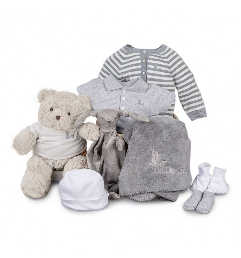 Classic Soft Complete Baby Hamper Blue