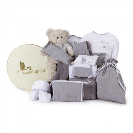 Classic Complete Baby Hamper Grey