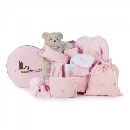 Classic Complete Baby Hamper Pink