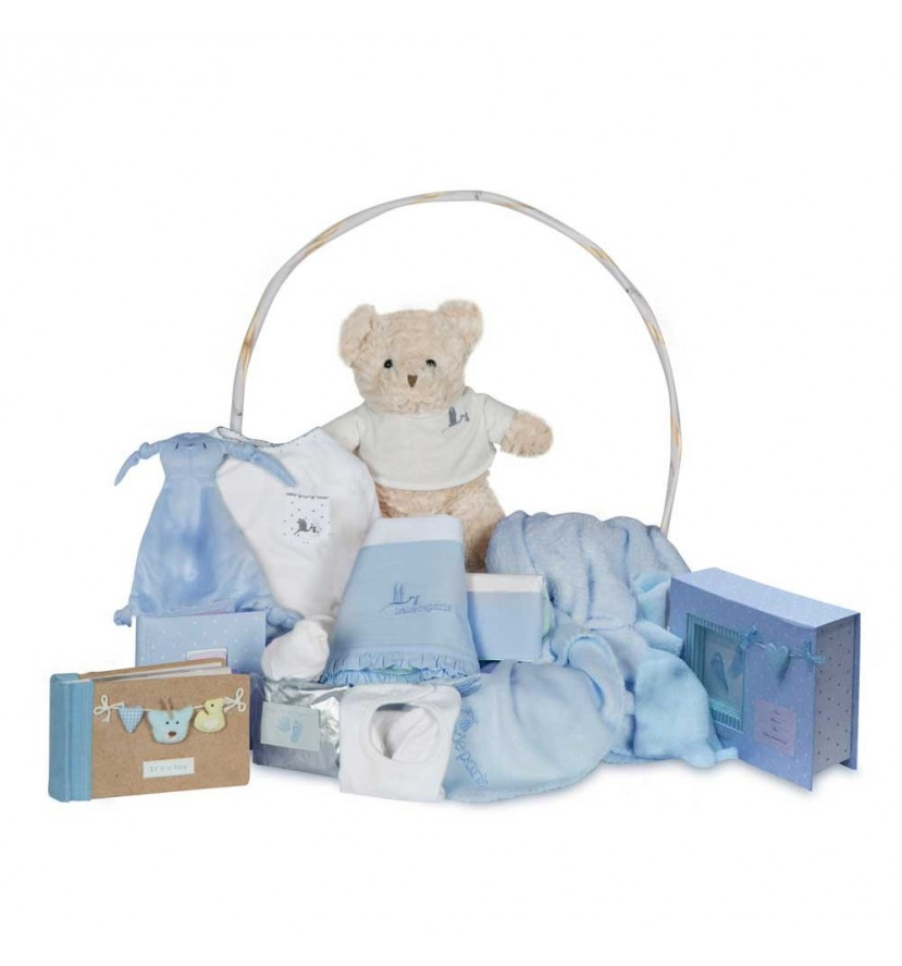 Memories Complete Baby Gift Basket Pink
