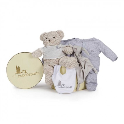Casual Essential Baby Hamper Grey