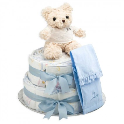 Chic Nappy Cake Pink