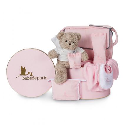 Travel Baby Hamper Pink