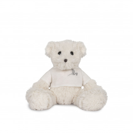 BebeDeParis Mini Teddy Bear White 30 cm