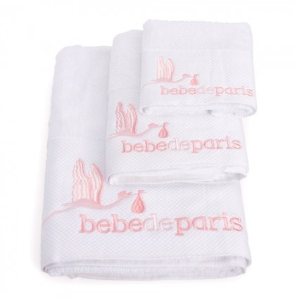 Baby Towel Set Pink