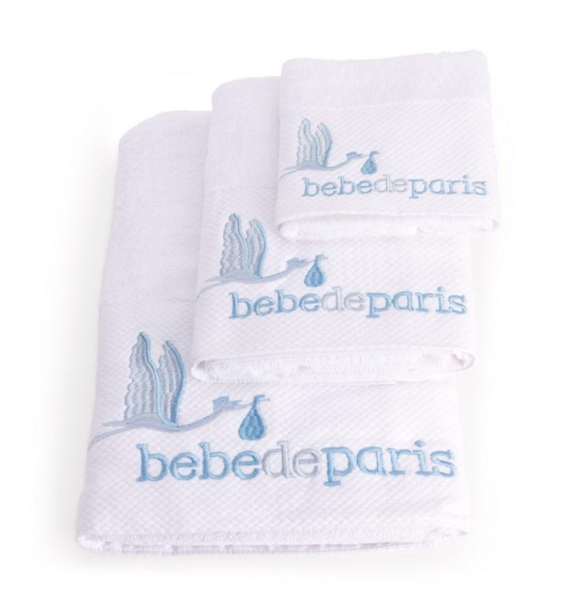 Baby Towel Set Blue