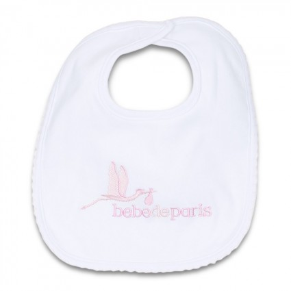 Baby Cotton Bib Pink