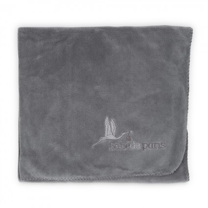 Baby Travel Blanket Grey