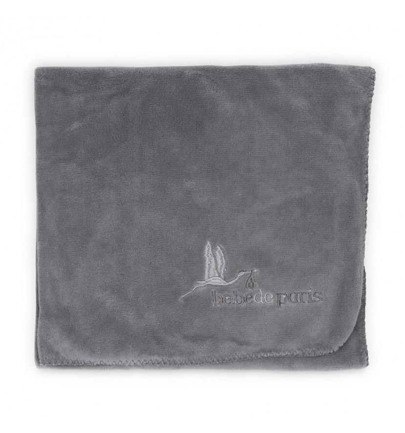 Baby Travel Blanket Grey