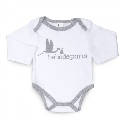 Basic Baby Body Grey